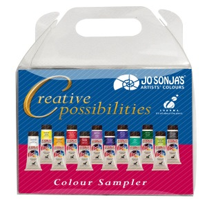 조소냐(조선자) JS Creative Possibilities Color Sampler (20ml x 12)
